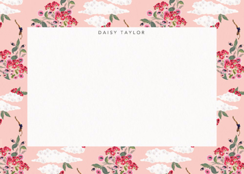 Pink Dreamer | Personalised Stationery Set