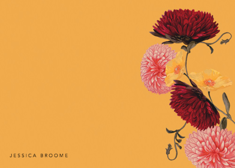 Chrysanthemum | Personalised Stationery Set