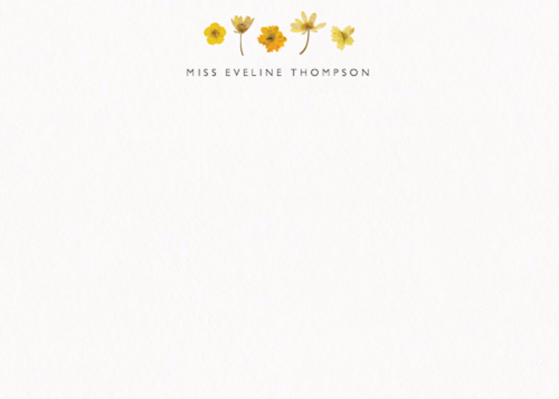Golden Meadow | Personalised Stationery Set