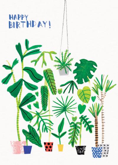 Garden Birthday | Personalised Birthday Card