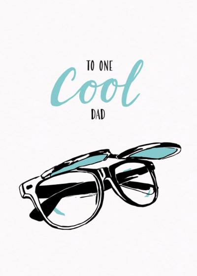 One Cool Dad | Personalised Birthday Card