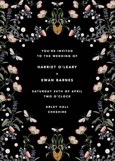 Fairy Tale   Personalised Wedding Invitation