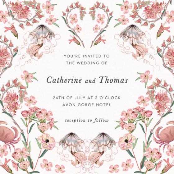 Valentines | Personalised Wedding Invitation