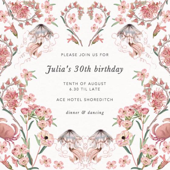Valentines | Personalised Party Invitation