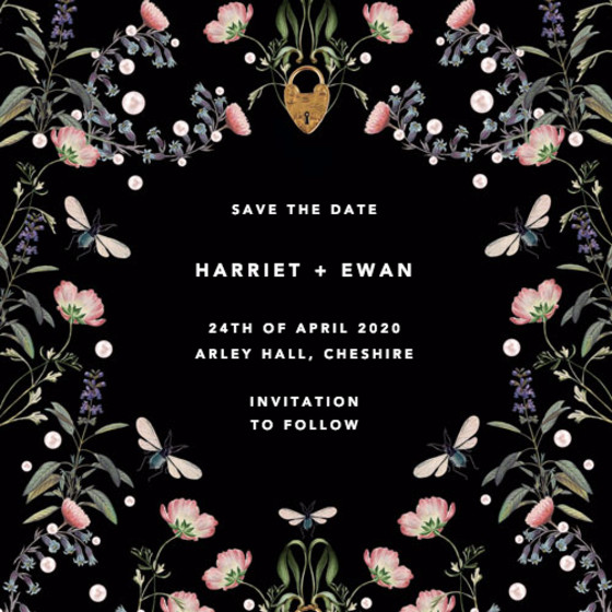 Fairy Tale | Personalised Save The Date