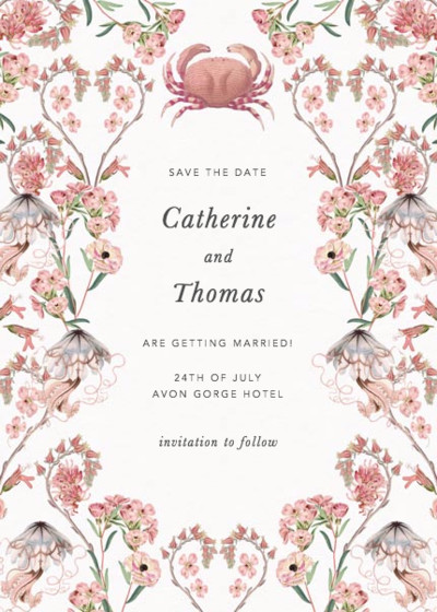 Valentines | Personalised Save The Date