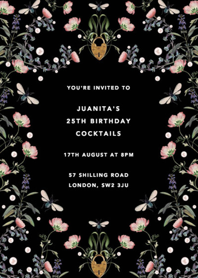 Fairy Tale | Personalised Party Invitation