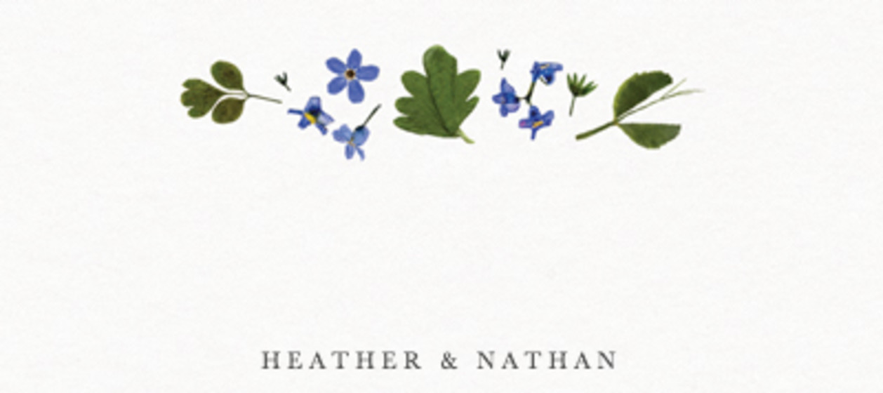 Blue Meadow | Personalised Place Name