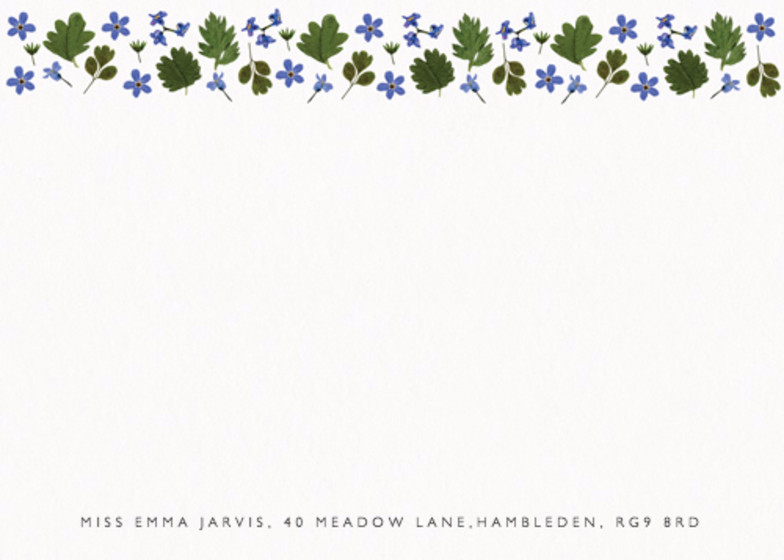 Blue Meadow | Personalised Stationery Set