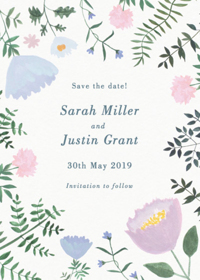 Helena | Personalised Save The Date