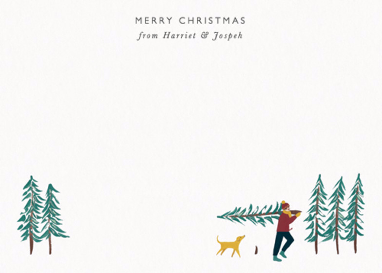Christmas Outing | Personalised Stationery Set