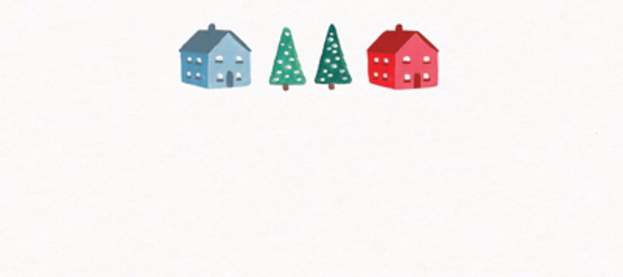 Christmas Town | Personalised Place Name