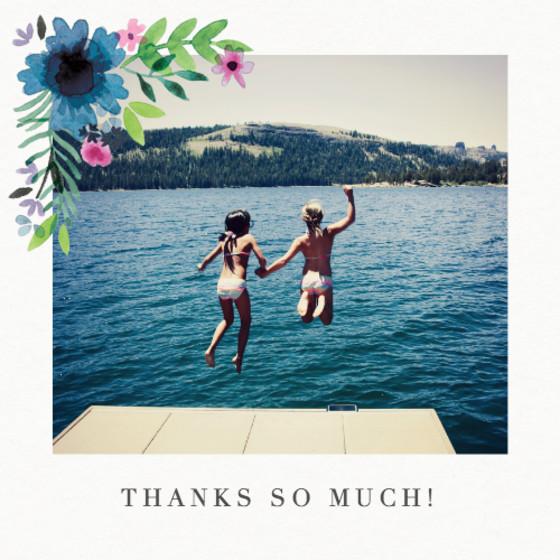 Midsummer Photo | Personalised Thank You Card Set
