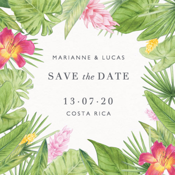 Miravalles | Personalised Save The Date