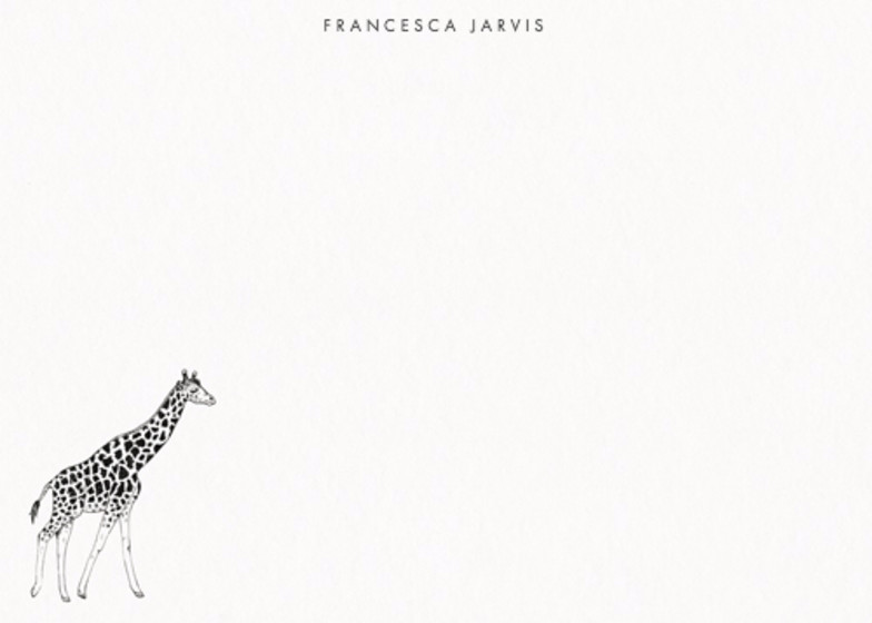 Savanna | Personalised Stationery Set