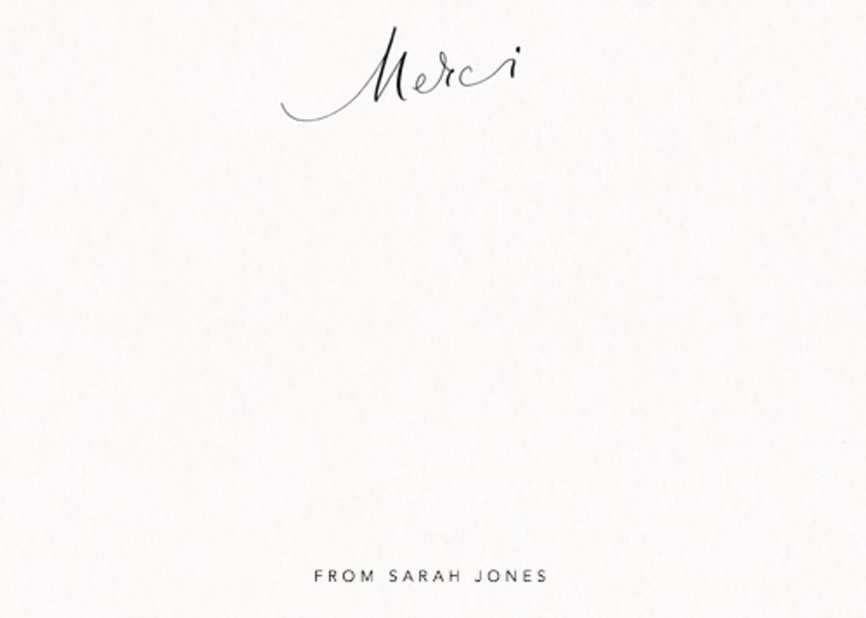 Merci | Personalised Stationery Set
