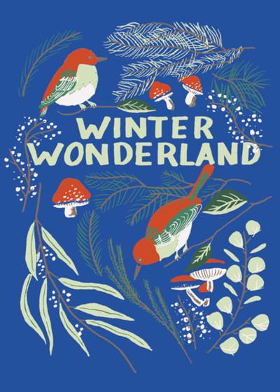 Winter Wonderland | Personalised Christmas Card Set