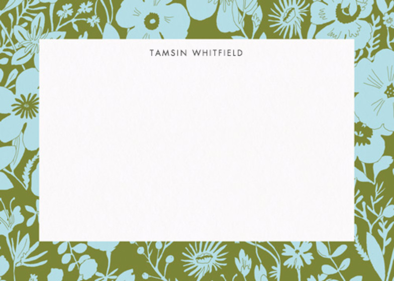 Flower Meadow  | Personalised Stationery Set