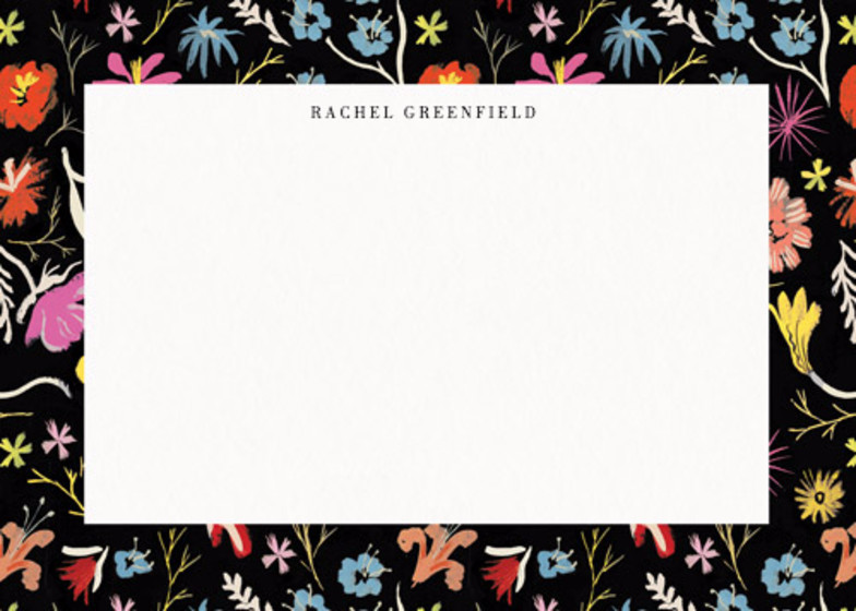 Ditzy Floral Scatter  | Personalised Stationery Set