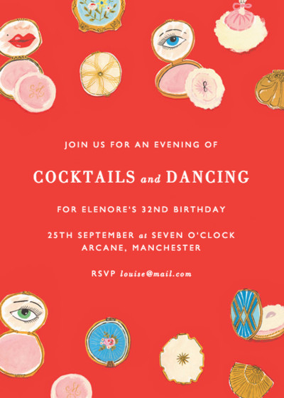 Compacts | Personalised Party Invitation