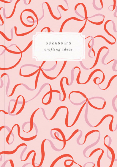 Ribbons | Personalised Lined Notebook