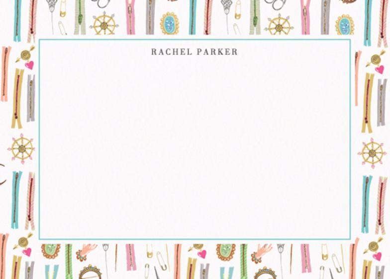Sewing Basket | Personalised Stationery Set