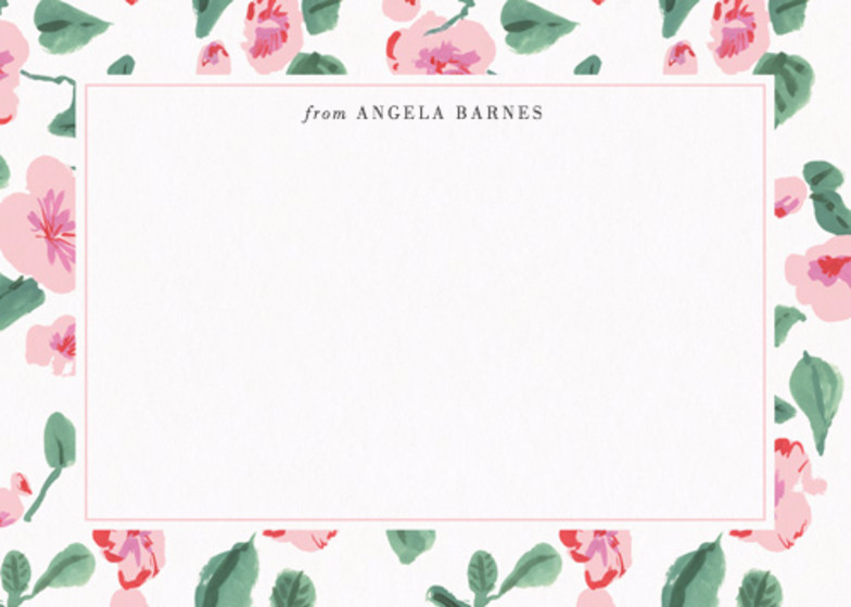 Rosebud  | Personalised Stationery Set