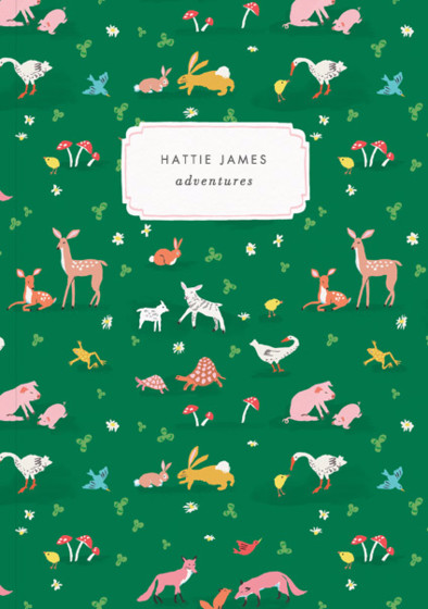 Tiny Animals  | Personalised Lined Notebook