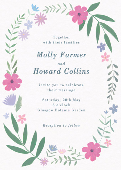 Emilia | Personalised Wedding Invitation