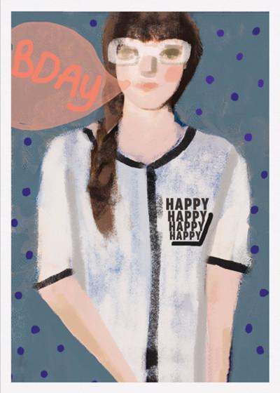Birthday Bubble | Personalised Birthday Card
