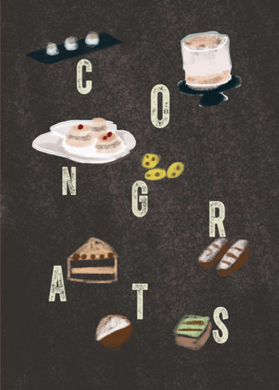 Cake Congrats  | Personalised Congratulations Card