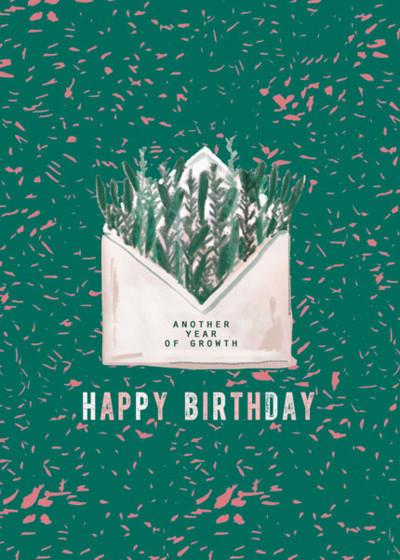 Birthday Envelope | Personalised Birthday Card