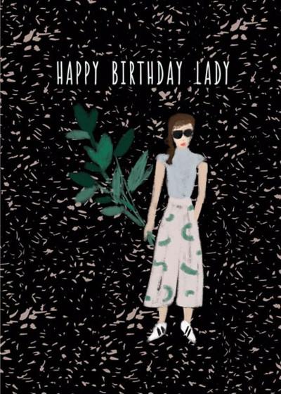 Birthday Lady | Personalised Birthday Card