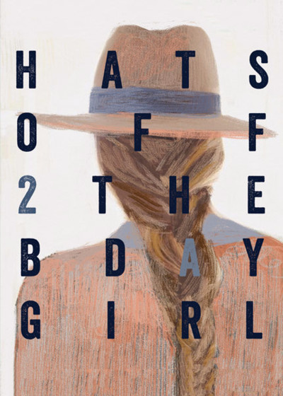 Hats Off 2 The Birthday Girl | Personalised Birthday Card