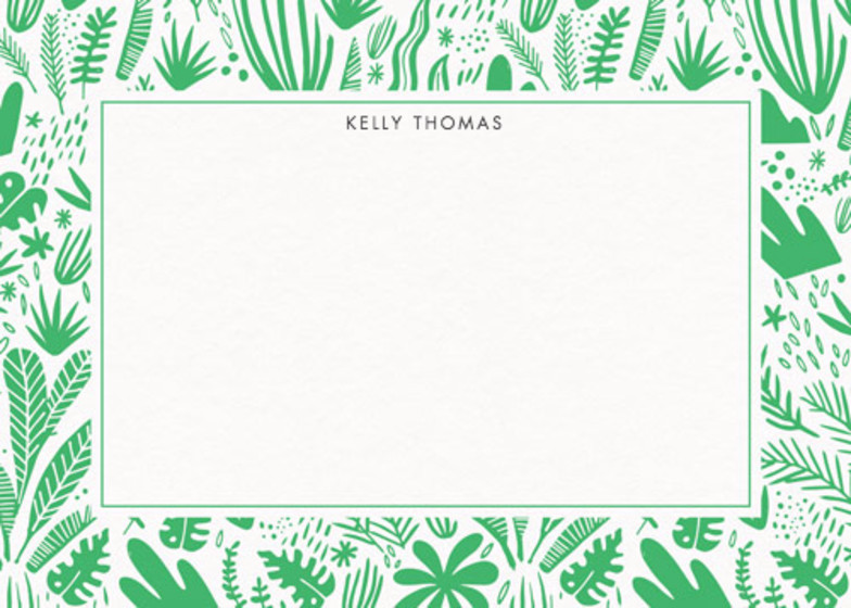 Tropical Jungle | Personalised Stationery Set