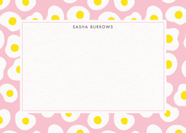 Eggs | Personalised Stationery Set