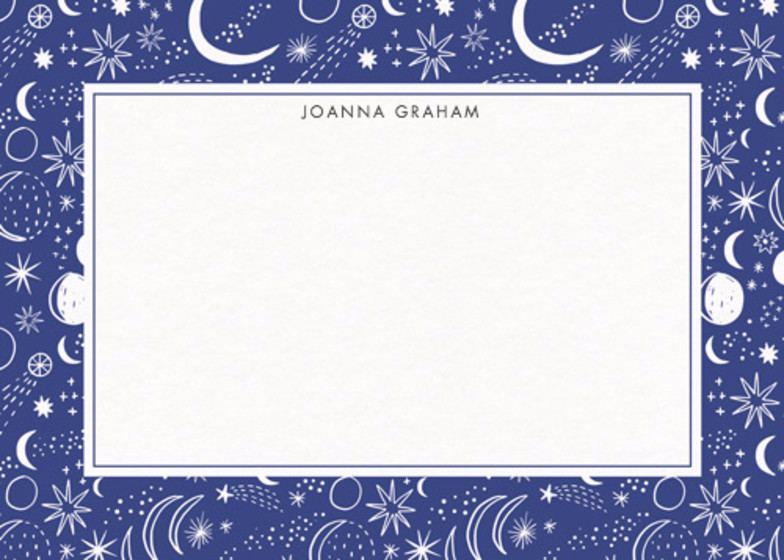 Night Sky  | Personalised Stationery Set