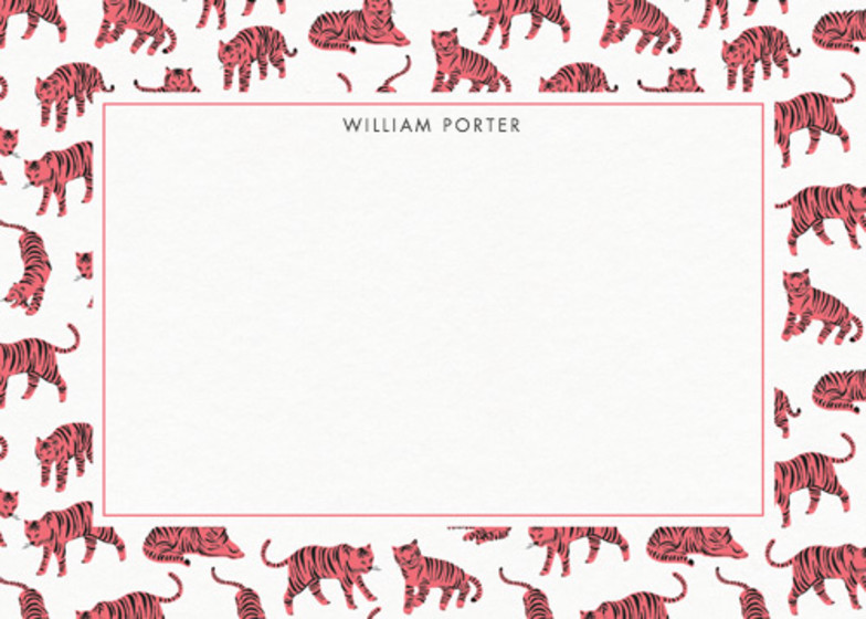 Tigers | Personalised Stationery Set