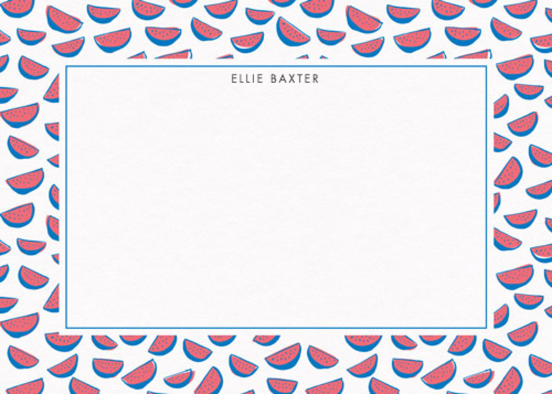 Watermelons | Personalised Stationery Set