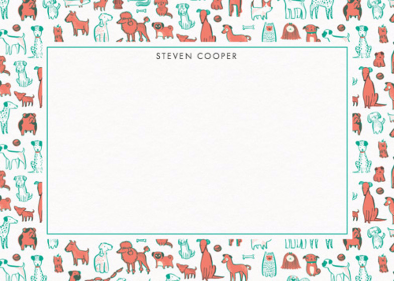 Pups  | Personalised Stationery Set