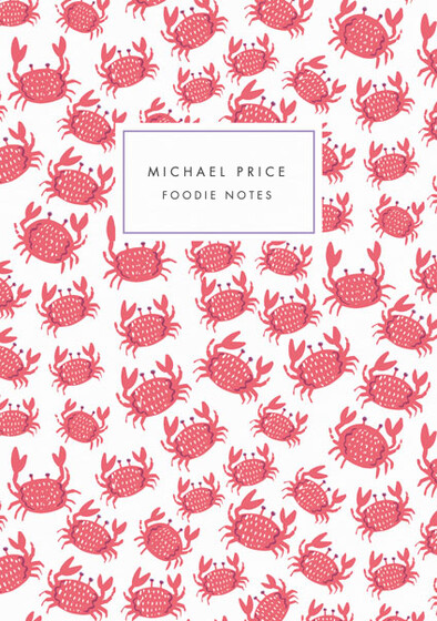 Crabs | Personalised Lined Notebook