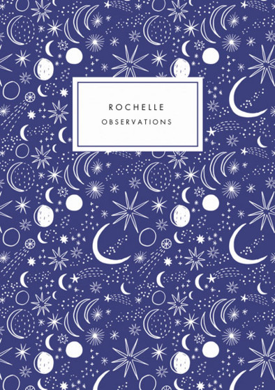 Night Sky | Personalised Lined Notebook