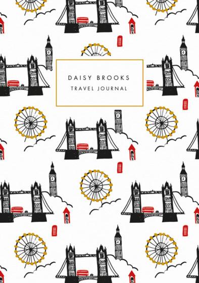 London Skyline | Personalised Lined Notebook