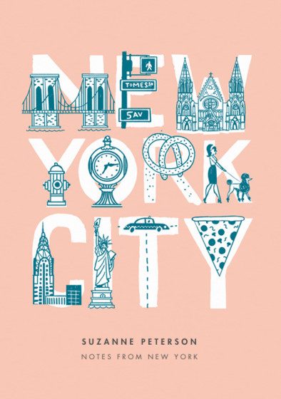 NYC   Personalised Lined Notebook