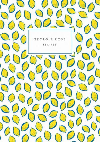 Lemons | Personalised Lined Notebook