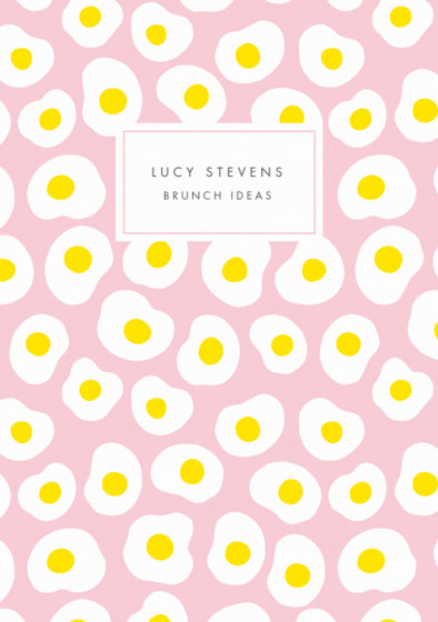 Eggs | Personalised Lined Notebook