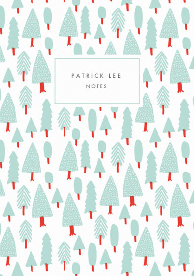 Forest | Personalised Lined Notebook