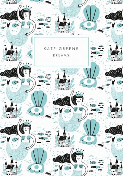 Mermaid | Personalised Lined Notebook