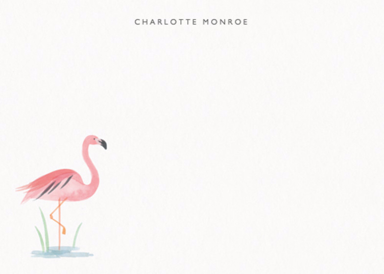 Flamingo Lake | Personalised Stationery Set