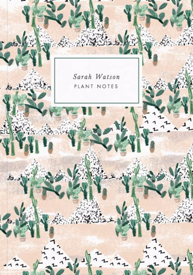 Succulents | Personalised Lined Notebook
